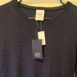 Gap Merino Wool Navy Sweater